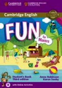 Fun for Movers Student s Book with Audio with Online Activities 3rd Edition