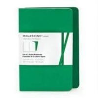 GREEN 2 RULED VOLANT NOTEBOOK P VERDE RAYADO