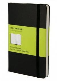 cuaderno moleskine. Plain Notebook