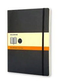 Soft classic x large ruled- moleskine